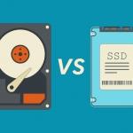 HDD VS. SSD – სიჩქარეების შედარება